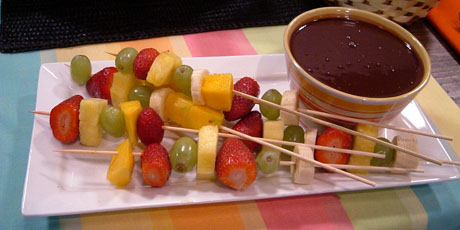 Chocolate Dipping Sauce Recipe For Fruit